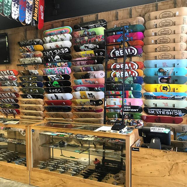What do you think of the deck wall so far. More brands to come next week!