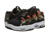 Osiris Shoe D3 2001  Black/Orange/Camo  -