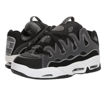 Osiris Shoe D3 2001 Black/Charcoal/Grey -