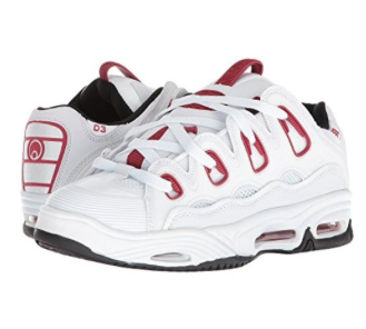 Osiris Shoe D3 2001 White/Red/Black -