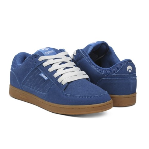Osiris Shoe Protocol Blue/White/Gum -