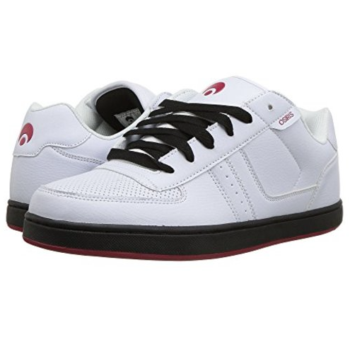 Osiris Shoe Relic White/Red/Black -