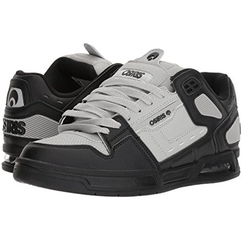 Osiris Shoe Peril Black/LTGrey/Black -