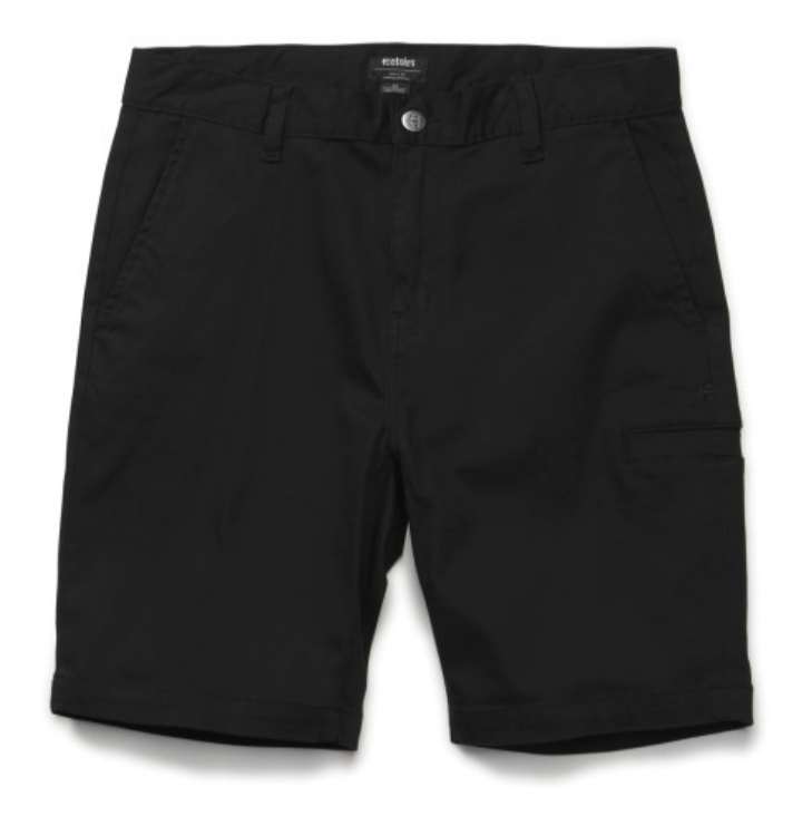 Etnies Straight Chino Short Black - $50