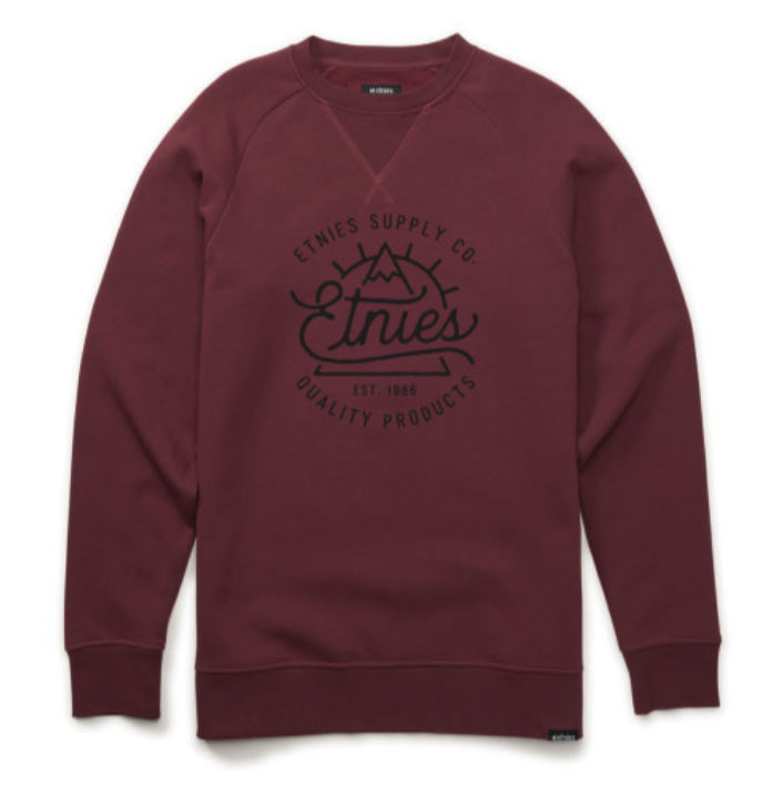 Etnies Creep Crew Burgandy - $55