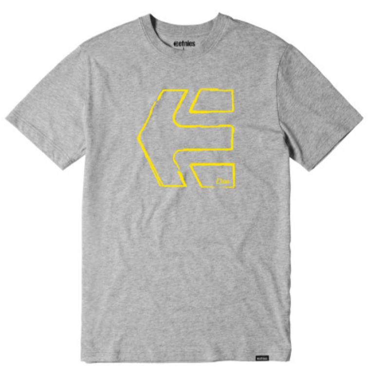 Etnies Sketch S/S Tee Grey/Heather - $20