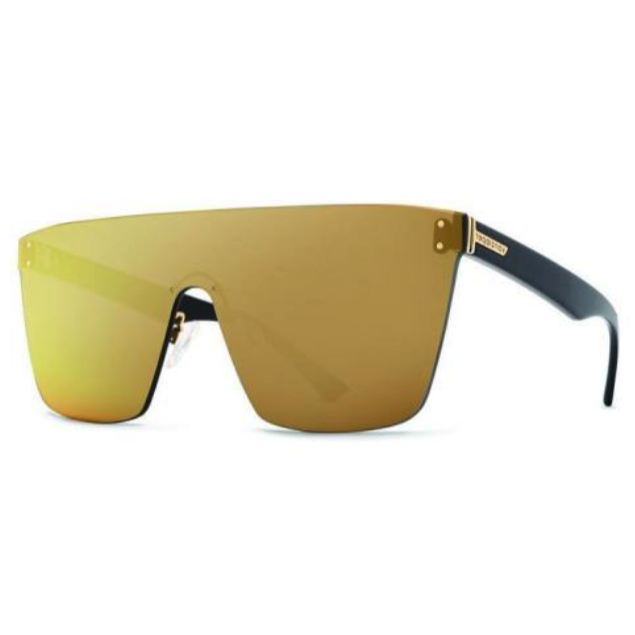 VonZipper Alt - Donmega Black Gloss/Flash Gold - $140