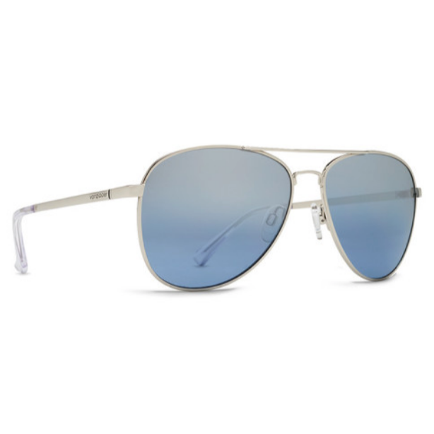 VonZipper Farva Silver/Navy Chrome - $160