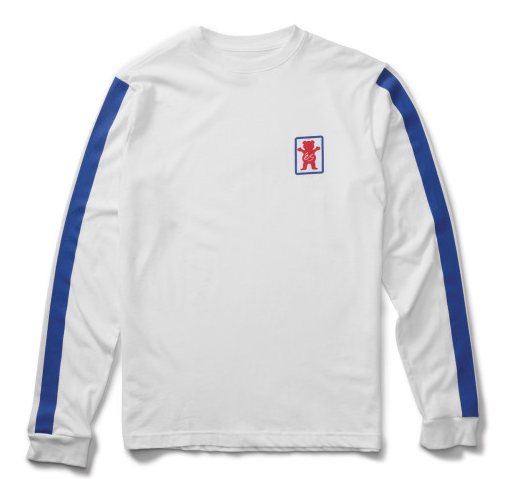 Es x Grizzley Racquet L/S White -