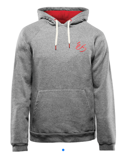 Es Script Hoody Grey/Heather -
