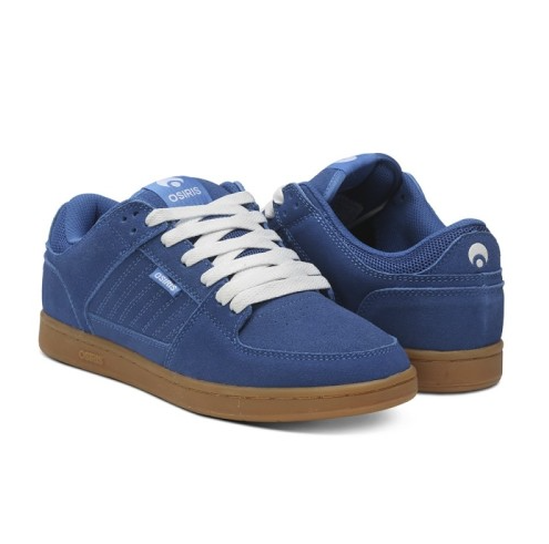 Osiris Protocal - Blue suede shoes are great for dancing and skateboarding! the Protocol is classic cup sole shoe. Great for those big drops with great support.