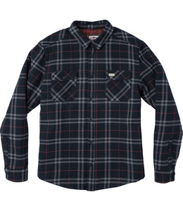 ANDREW REYNOLDS PLAID FLANNEL NAVY