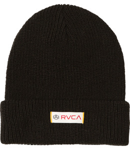 ANDREW REYNOLDS KNIT BEANIE BLACK