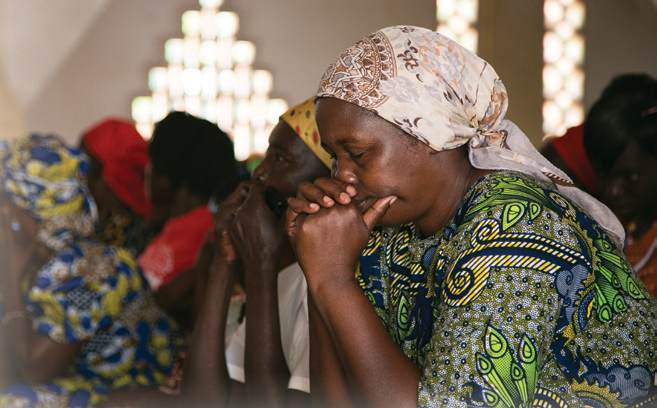 Citizens of the Central African Republic seek reconciliation and peace in their homeland. Photo: Michael Stulman/CRS