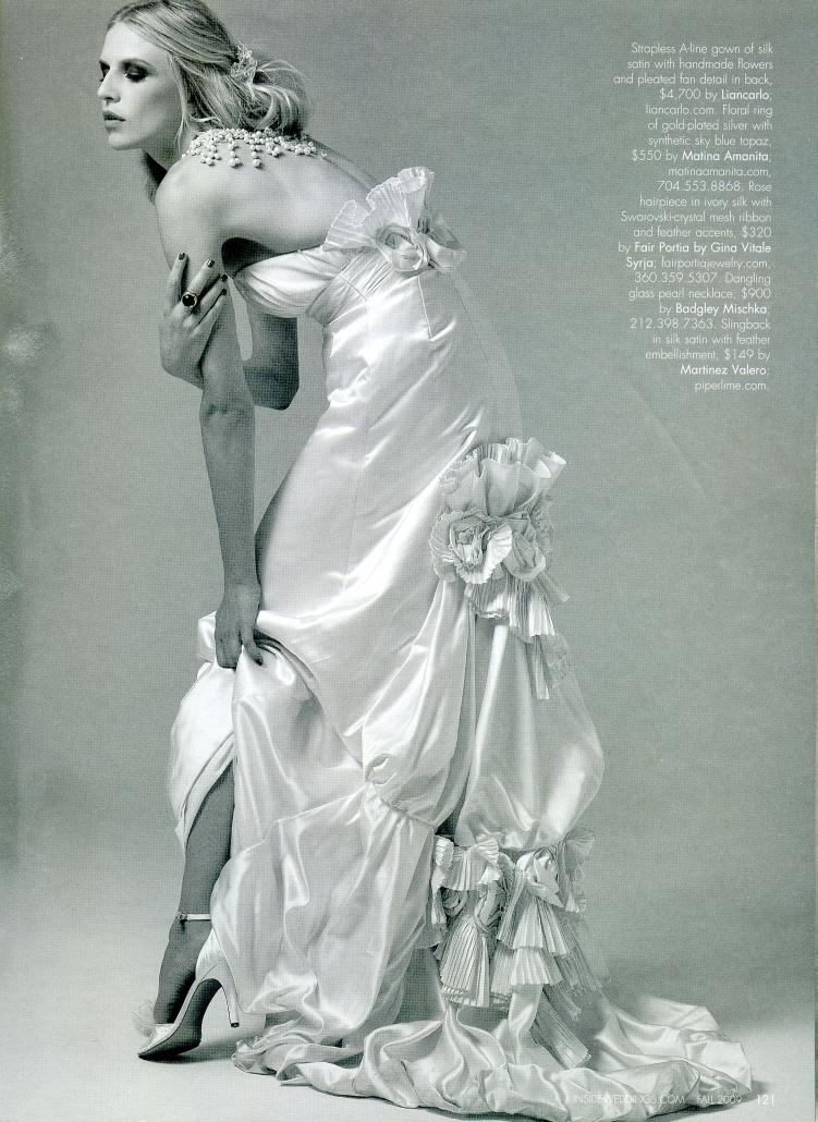 Inside Weddings Magazine Fall 2009