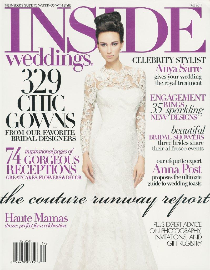 Inside Weddings Magazine Fall 2011