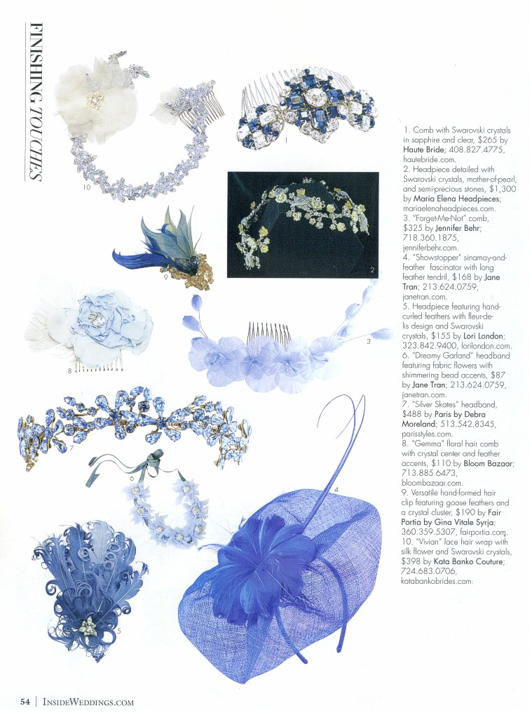 Inside Weddings Magazine Fall 2013
