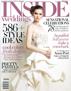 Inside Weddings Magazine Spring 2010