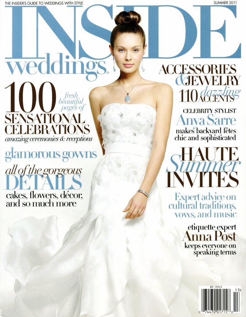 Inside Weddings Magazine Summer 2011
