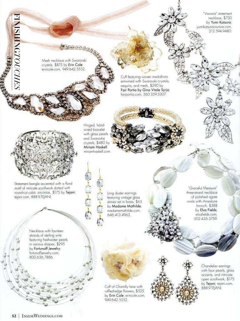 Inside Weddings Magazine Summer 2012