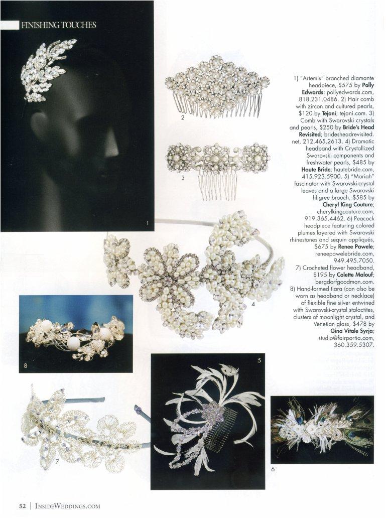 Inside Weddings Magazine Winter 2011