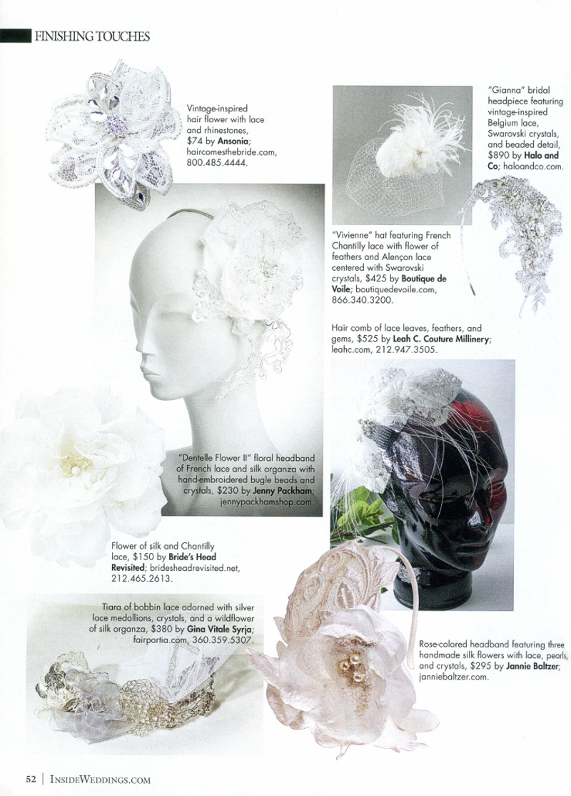 Inside Weddings Magazine Winter 2012