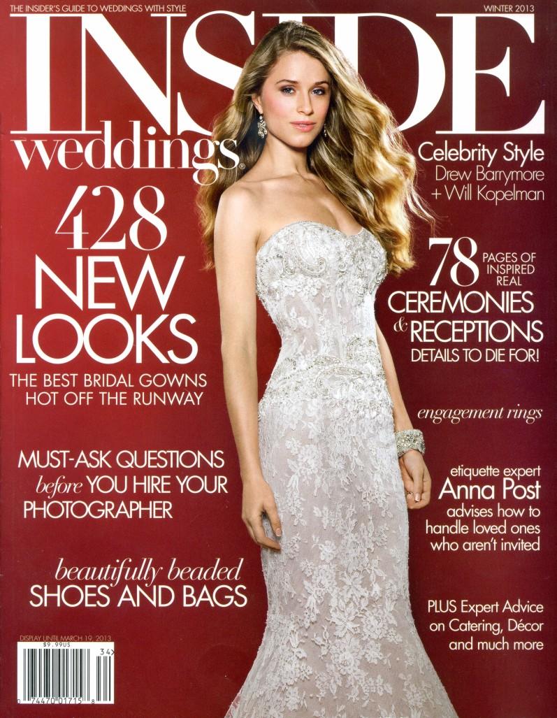 Inside Weddings Magazine Winter 2013