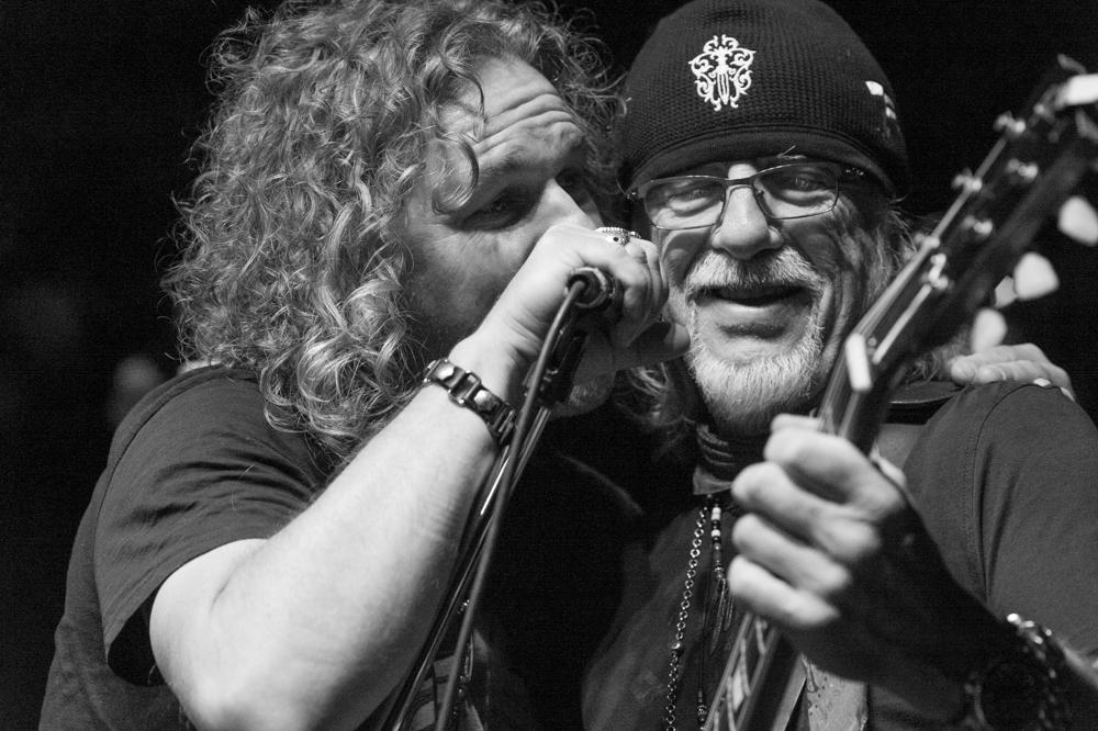 Buck Johnson and Brad Whitford, Aerosmith,