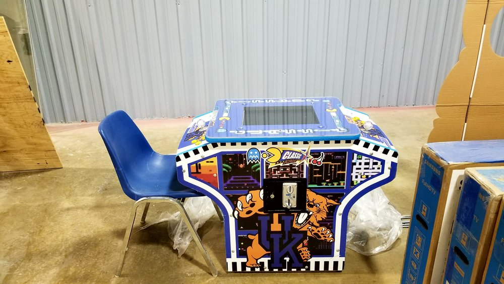 Cocktail Arcade Machine