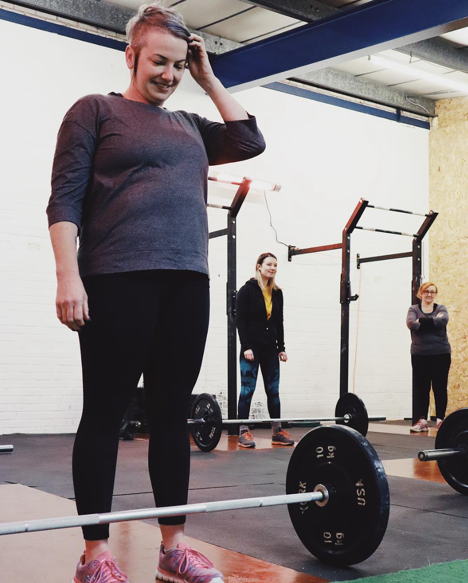 Women's deadlift