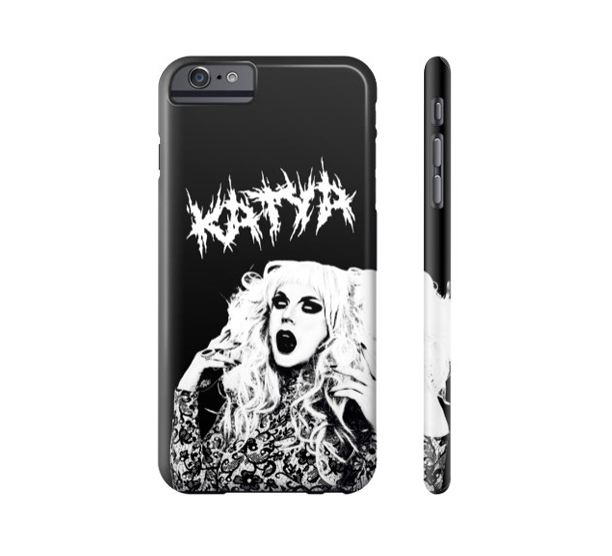 KATYA - METAL QUEEN PHONE CASE $35.00