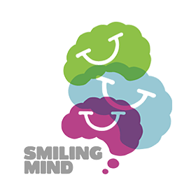 SMILING MIND: For 7 year olds and up, choose the track that's right for you (by age or interest) and follow along with this sweet Aussie-voiced program.