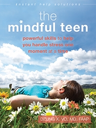 """ The Mindful Teen  offers a unique program based in mindfulness-based stress reduction (MBSR) and mindfulness-based cognitive therapy (MBCT) to help you deal with stress. The simple, practical, and easy-to-remember tips in this book can be used every day to help you handle any difficult situation more effectively-whether it's taking a test at school, having a disagreement with your parents, or a problem you are having with friends."