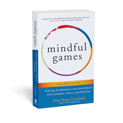 "Kaiser Greenland's book is a deep well of mindfulness activities. I'm not sure I would call these ""games,"" however."