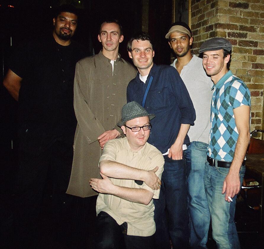 John front, Jeremy in long coat, Will in blue.JPG