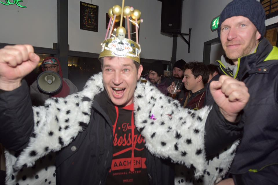Thomas Süß, King of the Winter Frenzy Night 2016- Lang lebe der König! - Crossgolf Aachen ©