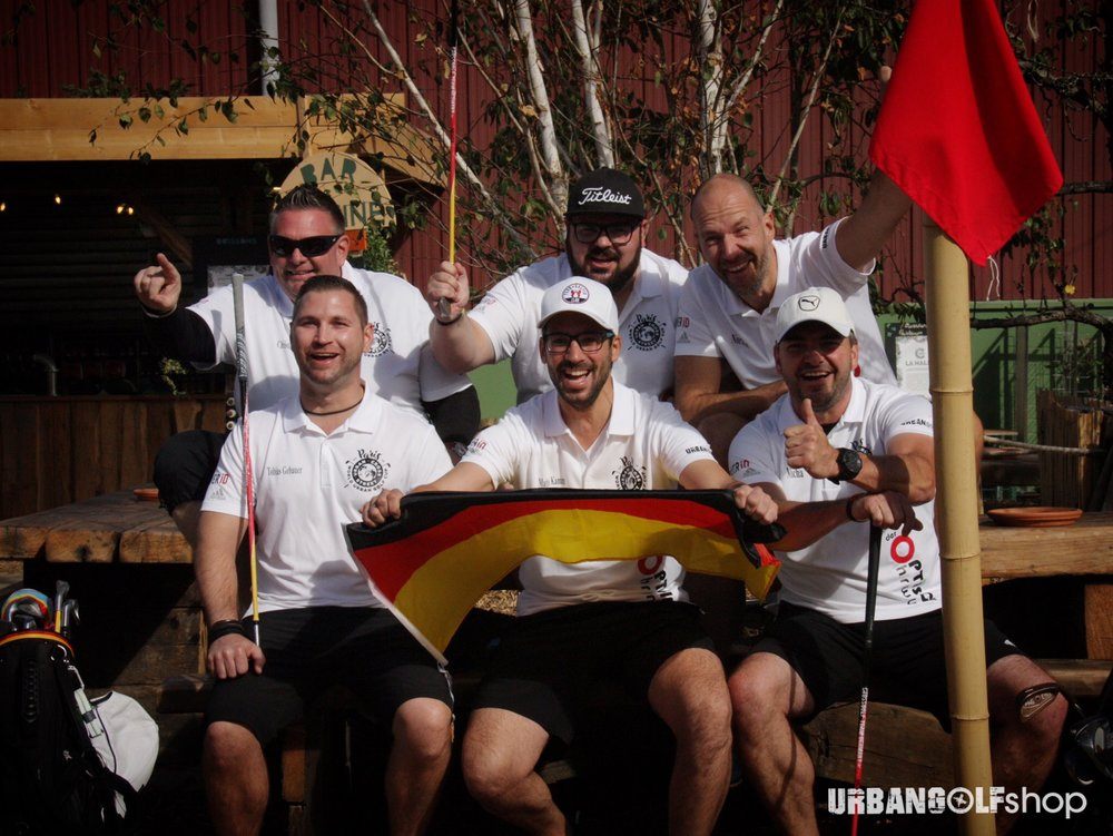 TEAM GERMANY DROVE TO THE FIRST WORLD URBAN GOLF CUP  #WUGC2018 #WUGC #URBANGOLFSHOP