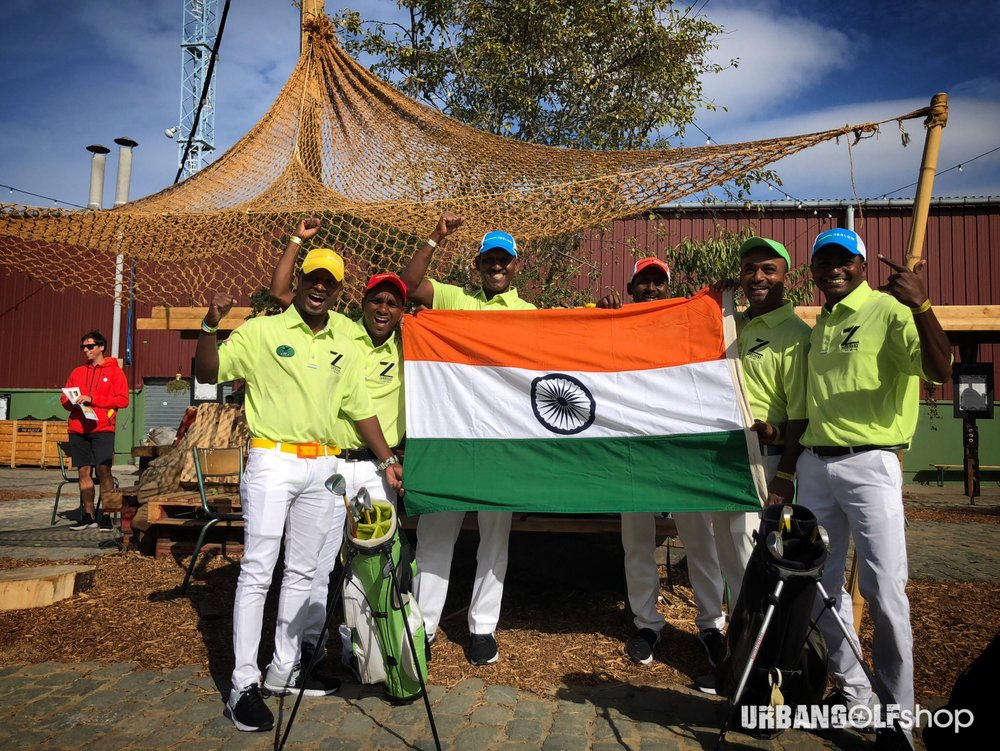 TEAM INDIA FLEW OVER 7,000 Km TO PARTICIPATE IN THE FIRST WORLD URBAN GOLF CUP  #WUGC2018 #WUGC #URBANGOLFSHOP