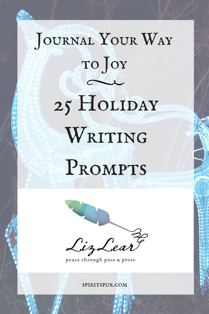 Journal Your Way to Joy: 25 Writing Prompts — SPIRIT SPUR 1