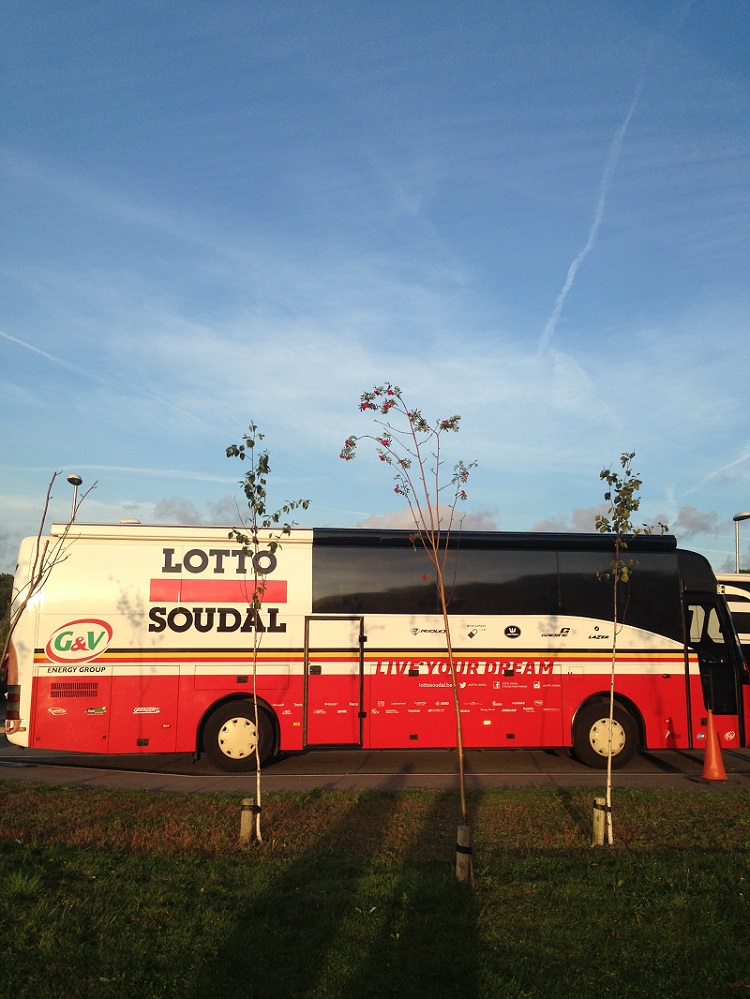 Lotto Soudal Team Bus