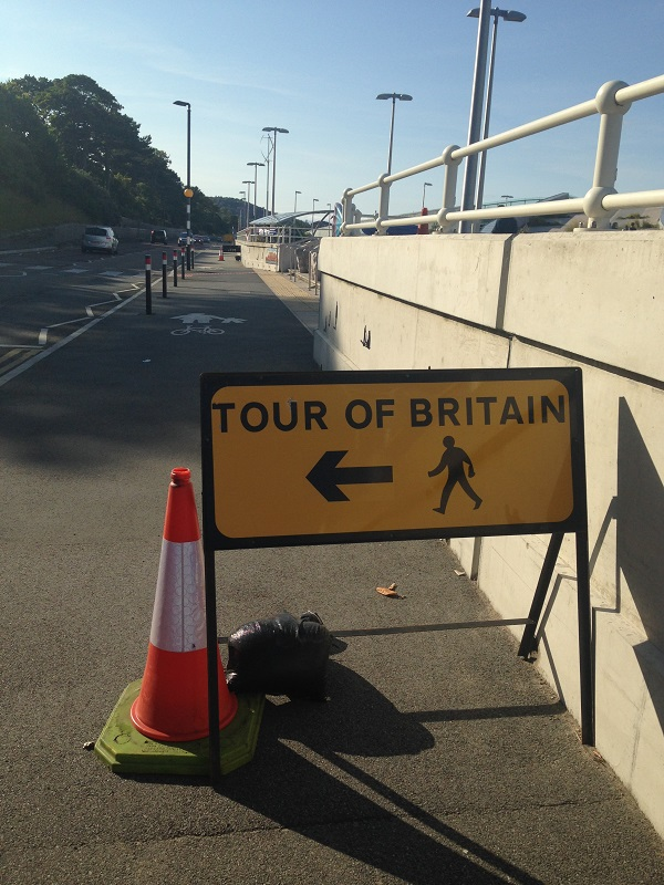 Tour of Britain this way