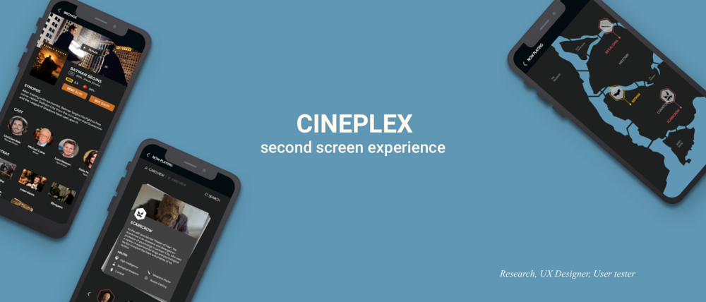 The goal is to use the mobile to enhance fans' movie watching experience at home.