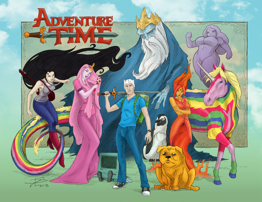 Adventure Time Redux