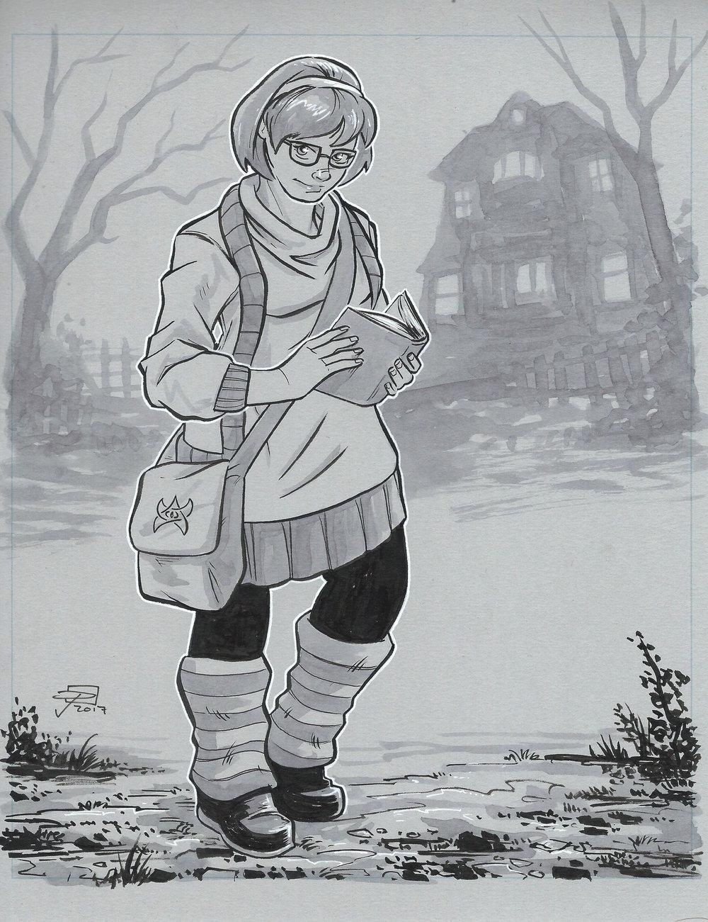 Velma - Inktober 2017