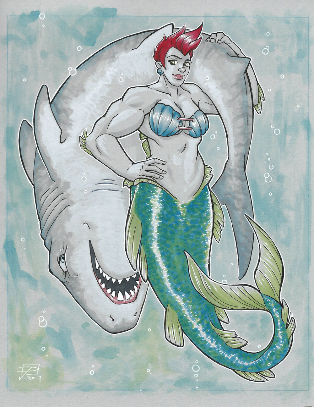 "The ""Little"" Mermaid"