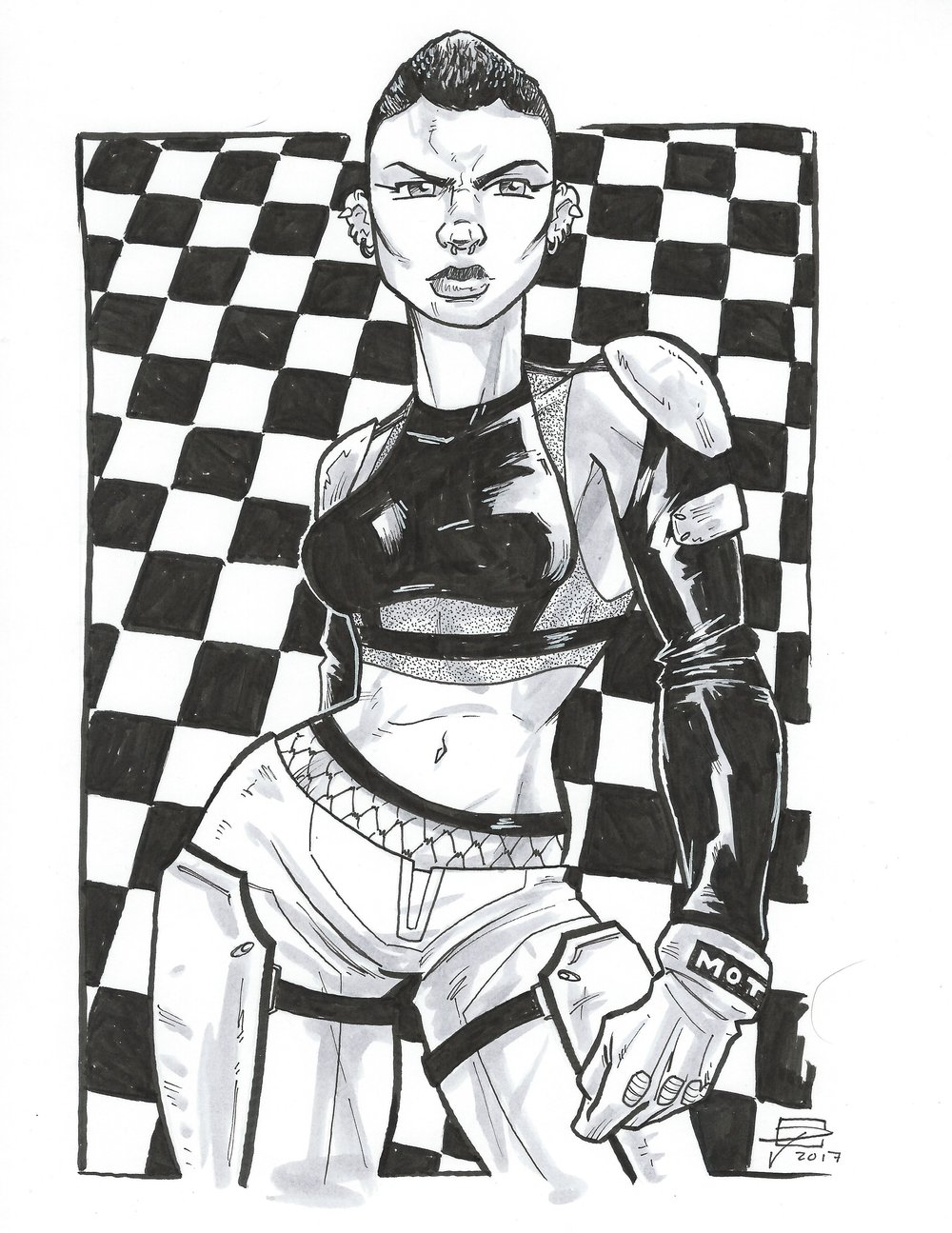 Domino - Motor Crush