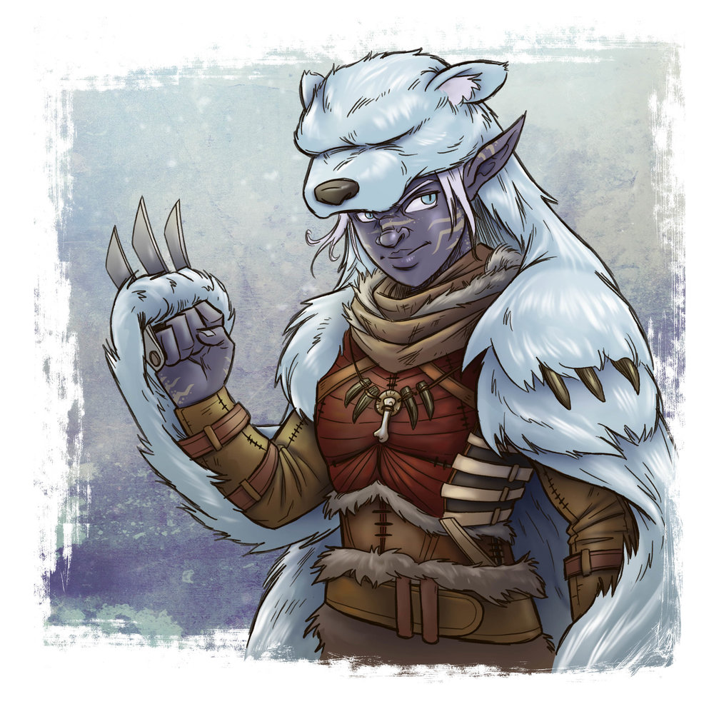 Rhulain - Dark Elf Bear Shaman
