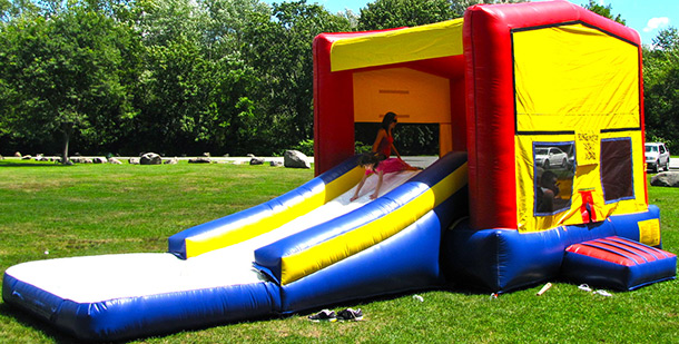 Wet/Dry Combo Units - Climb, Slide, Bounce, Water features and more!
