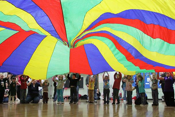 GIANT Parachutes!