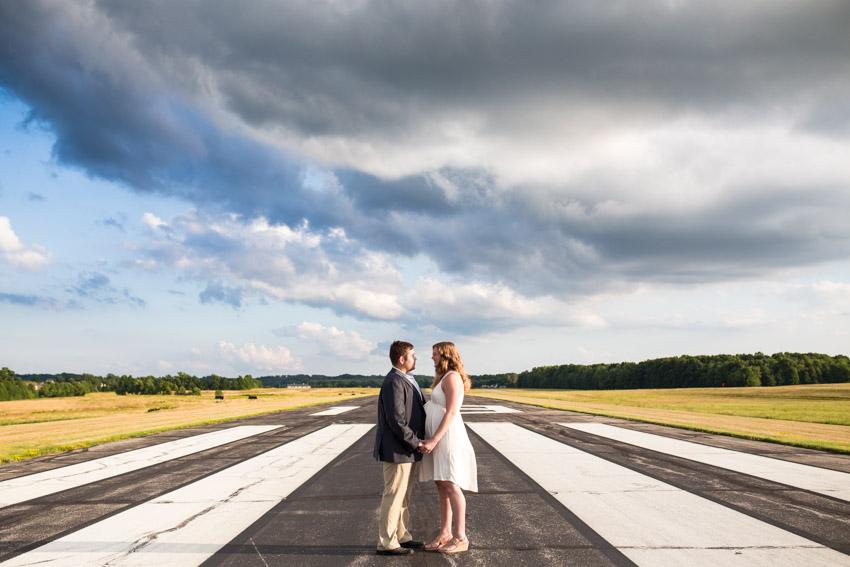Amazing Sky Engagement Photos